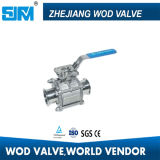 Stainless Steel 3 Piece Sanitary Ball Valve