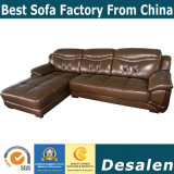 L Shape Modern Furniture Genuine Leather Sofa (A841)