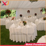Wedding Spandex Table Cover with Skirt Round Polyester Table Cloth Decoration