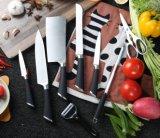 TPR Handle 9PCS Useful Kitchen Knife with Acrylic Handle