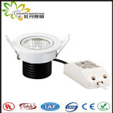 2018 NEW design 7w LED Down light, IP44 Lifud driver LED Downlighting