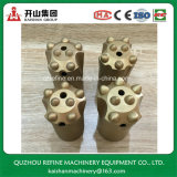 50mm Big Size 7 Buttons Insert Taper Drilling Bit for Boring