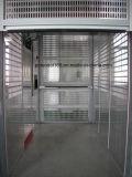 Entrance / Exit Hoist Door in Punching Aluminum Plate for Construction Hoist Elevator