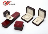 Burgundy Elegant Leatheratte Paper Jewelry Box