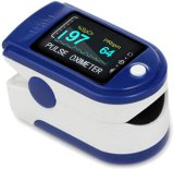 Fingertip Pulse Oximeter, Rotatable OLED Display to Show Waveform
