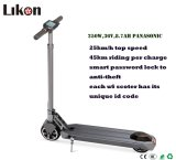 Patent Designed 6inch Fast Foled Electric Motor Scooter with Smart Password Lock on Hot Sales.