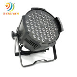 Nightclub Stage LED Lighting Indoor Aluminum PAR Light 54*3W RGB 3 in 1 Wholesale