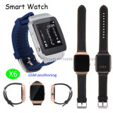 New Developed Smart Watch Phone with GSM Positioning (X6)