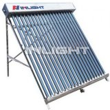 Stainless Steel Non Pressure Glass Tube Solar Collector