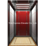 Gearless Passenger Elevator with Black Blasted Stainless Steel