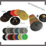 Diamond Velcro Backed Floor Polishing Pads