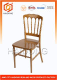 Popular Furniture Gold Resin Napoleon Chair for Banquet