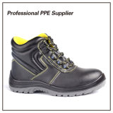 Smooth Action Leather Waterproof Industrial Safety Boot