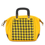 Fashion Yellow Popular Women PU Designer Handbags (MBNO034053)