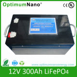 Li-ion Battery (LiFePO4) 12V 300ah with PCM or Charger