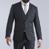 Black Custom Made Slim Fit Wedding Man Suit