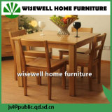 Oak Wooden Furniture Extendable Dining Set with 6 Chairs (W-DF-9052)