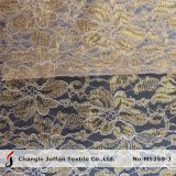 Thick Cord Lace Gold Metallic Lace Fabric (M5259-J)