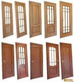 Chinese Style Wooden Door Fsc Certified for Room