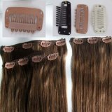 100% Human Remy Clip in/on Hair Extenison