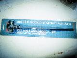 Flipping Vanadium Steel Socket Ratchet Wrench