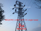 Megatro 110kv Sj45 Degree DC Angle Tower