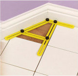 Multi-Function Adjustable Ruler Universal Angle Measurement Template Tool
