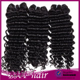 8A Grade Virgin Unprocessed Human Hair Virgin Chinese Hair Loose Wave 4 Bundles Loose Deep Curly Queen Weave Beauty Spring Curls