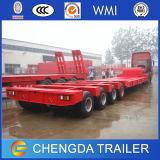 4 Axles Heavy Duty Low Bed Trailer, Cargo Trailer Truck