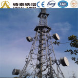 Telecommunication Mobile Steel Tower TV