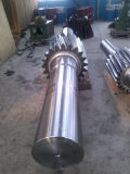 Gear Shaft Used in Rotary and Kiln