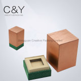 Copper-Colored Smooth Silk Touch Paper Perfume Packaging Box