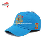 Blue 6 Panel Baseball Cap
