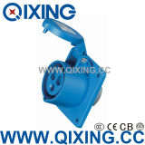 IP44 16A Angle Mounted Socket for Industry (QX-1366)