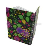 Paper Spiral Hardcover Students Exercise Notebook, Office Stationery Diary
