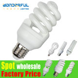 Factory Wholesale 2u/3u/4u Energy Saving Light Lighting/ T3/T4/T5 Full Half Spiral Tube LED CFL Lamp/ Lotus Energy Saving Bulb