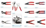 Punch Pliers with Nonslip Handle Head Surface Finish/Polished