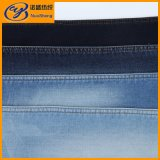 Blue Black Knitted Denim Fabric For Jeans