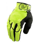Yellow New Quality Full Finger Motorcycle Racing Sports Glove (MAG66)