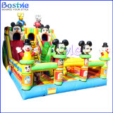 Mickey Inflatable Fun City Playground Inflatable Amusement Park