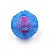 Hot Selling Squeaky Giggle Dog Toy Rubber Pets Ball Food Treat Dispenser Chew Toy
