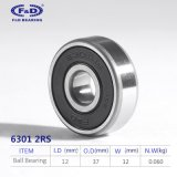 Radial ball bearing 6301RS bicycle bearings Rodamiento 6301 roller bearing/auto bearings