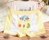Children Cartoon Printed Boy′s Underwear Boxer Short