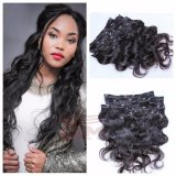 Wholesale Price Brazilian Body Wave Clip in Human Hair Extension