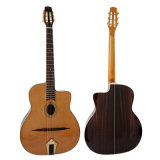 Aiersi Brand Petit Bouche Acoustic Gypsy Jazz Guitar