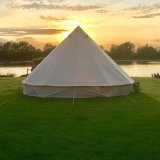 Luxury Outdoor Waterproof Four Season Family Camping Cotton Canvas Yurt Glamping Bell Tent