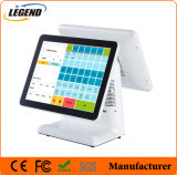 """15"""" dual Screen All in One POS Capacitive Touchscreen Display"""