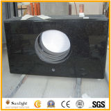 Popular Black Galaxy Granite Bar Tops & Tabletops for Meeting Room