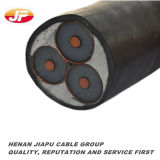 Underground Copper Cable 3X150mm2 12/20 (24) KV XLPE Insualted/ PVC Sheath