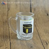 Custom Printed 3oz Cheap Glass Small Milk Coffee Mug